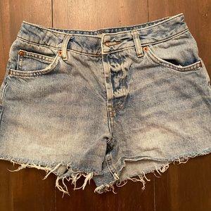 TopShop Moro Ashley denim shorts - Size 4